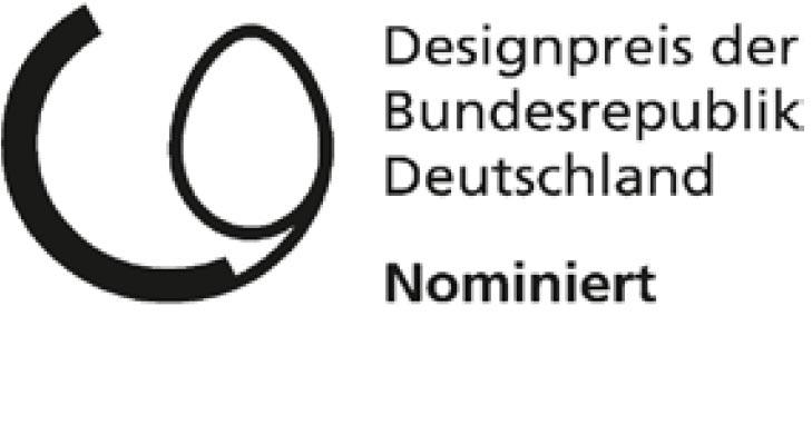 Designpreis der Bundesrepublik Deutschland – Nominiert