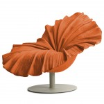 Kenneth Cobonpue - BLOOM Easy Armchair tangerine