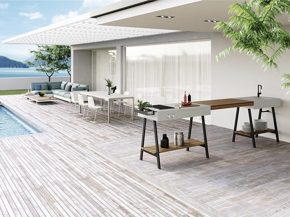 Outdoor Küche Viteo : Viteo adapt outdoorküche mÖbelwerk wien inspirierte möbel für