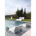 LOW Lounge Chair, Double-Lounger, Side Table