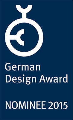 German Design Award 2015 – Nominee