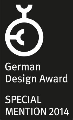 German Design Award – Special Mention 2014